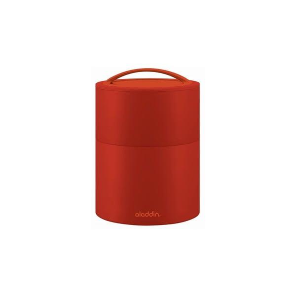 Termobox na oběd či svačinu Bento 950 ml, červený