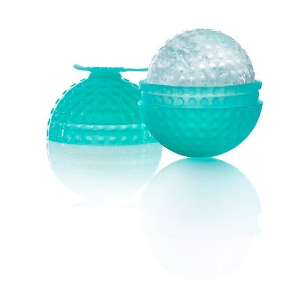 Modrá silikonová forma ve tvaru koule Lékué Mold