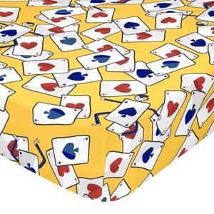 Elastické bavlněné prostěradlo Mr. Fox Tea Time, 90 x 200 cm