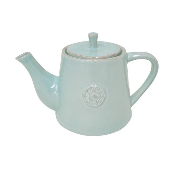 Tyrkysová keramická konvice na čaj Ego Dekor Nova,1,07l