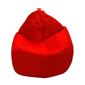 Červený sedací vak Evergreen House Droplet