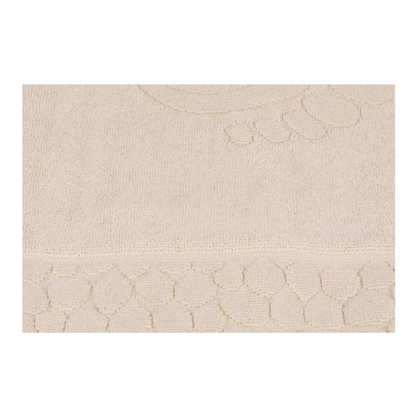 Béžová koupelnová předložka Pastela, 70x 50cm