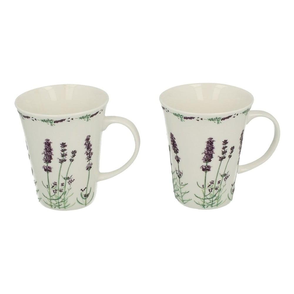 Sada 2 porcelánových hrnků Duo Gift Lavender