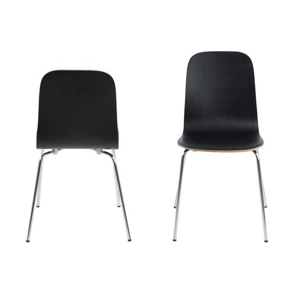 Jídelní židle Bjoorn, černá