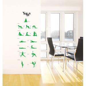 Samolepka Yoga Lessons
