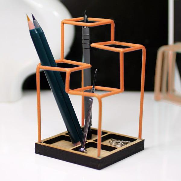 Pracovní organizér Desk Tidy, oranžový