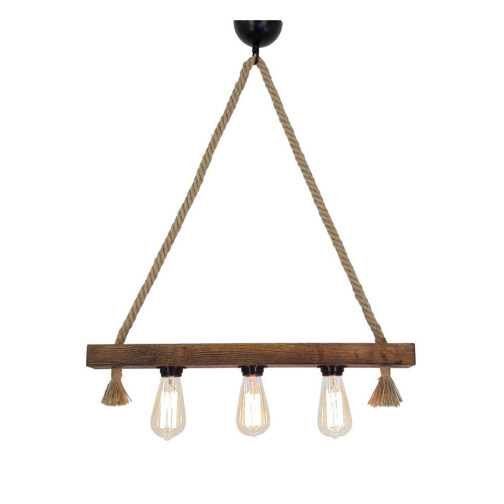 Dřevěné stropní závěsné svítidlo Kutuk