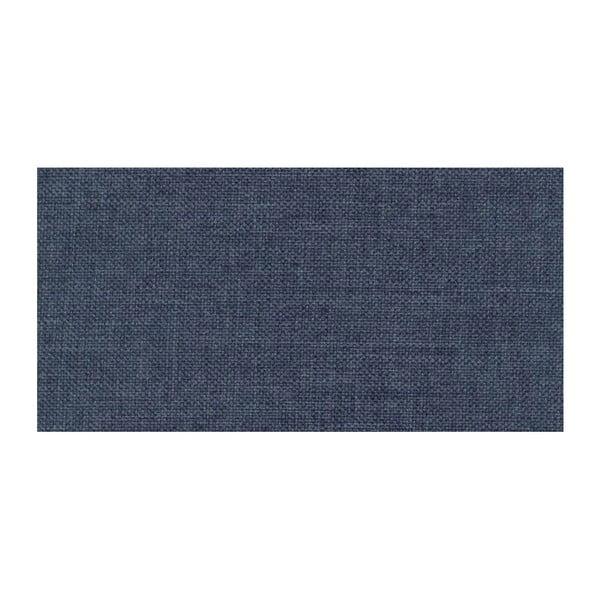 Modrá rozkládací pohovka Modernist Pashmina, pravý roh
