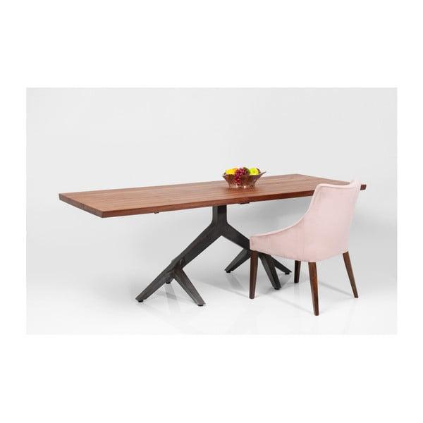 Jídelní stůl z akáciového dřeva Kare Design Roots, 220 x 100 cm