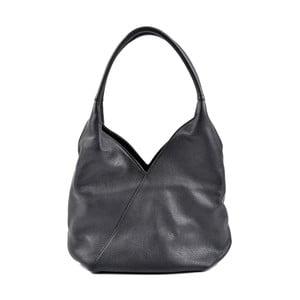 Černá kožená kabelka RobertaM Alice