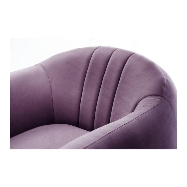 Křeslo Comete Stripes Purple