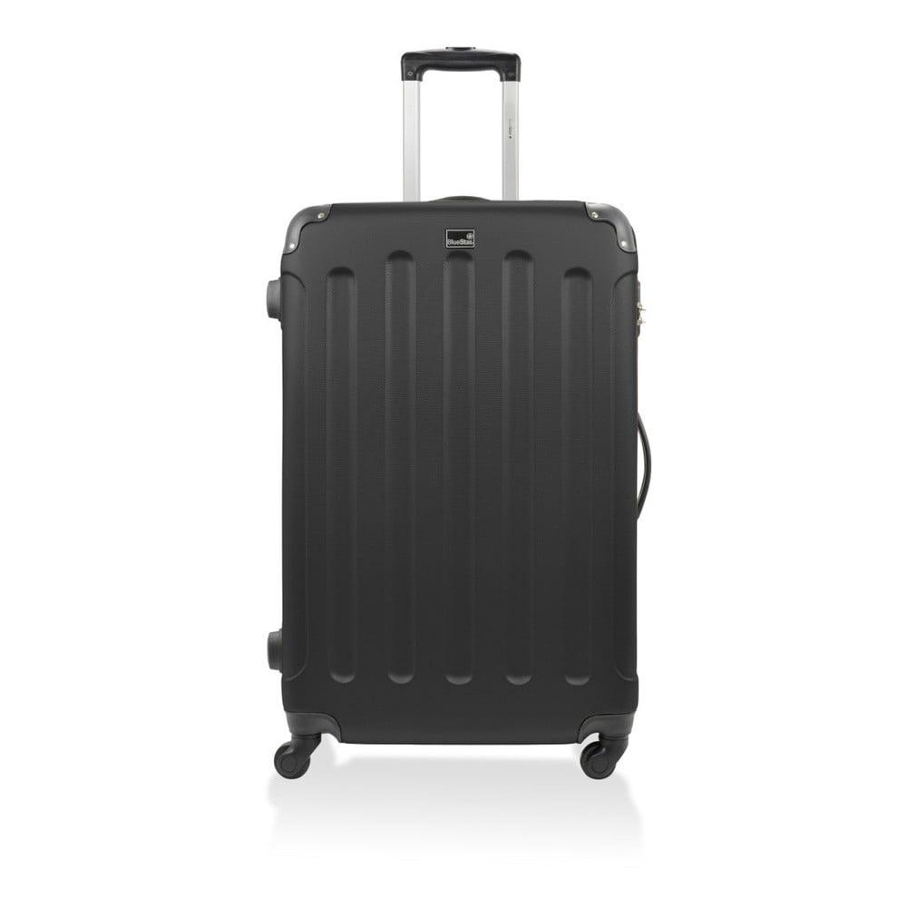 Černý cestovní kufr na kolečkách Blue Star Madrid, 60 l