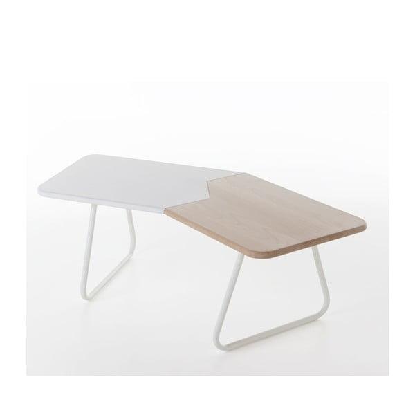 Kávový stolek Briciolo, bílý