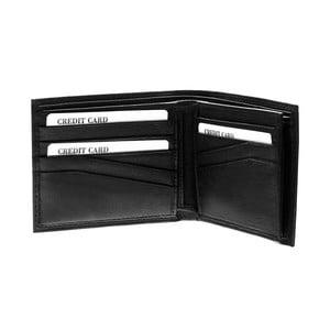Kožená peněženka Continuum 1511, dvojité prošívání
