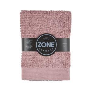 Růžový ručník Zone,70x50cm