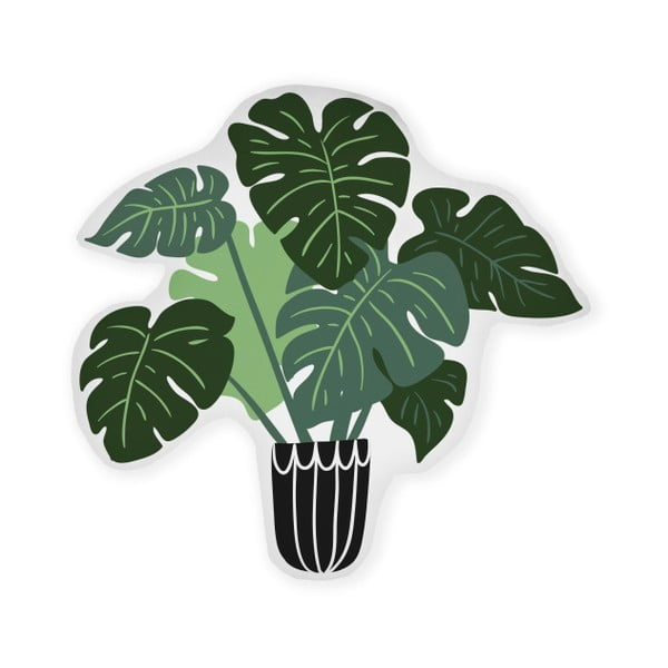 Pernă decorativă din microfibră Really Nice Things Monstera