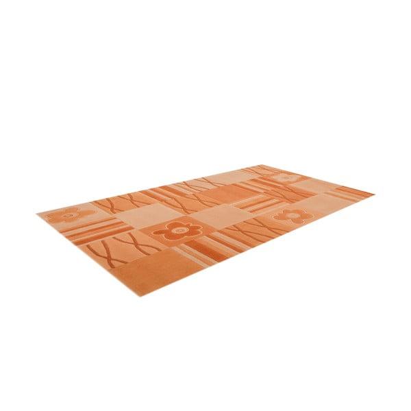 Ručně tkaný koberec Calypso, 120x180 cm, vanilkový
