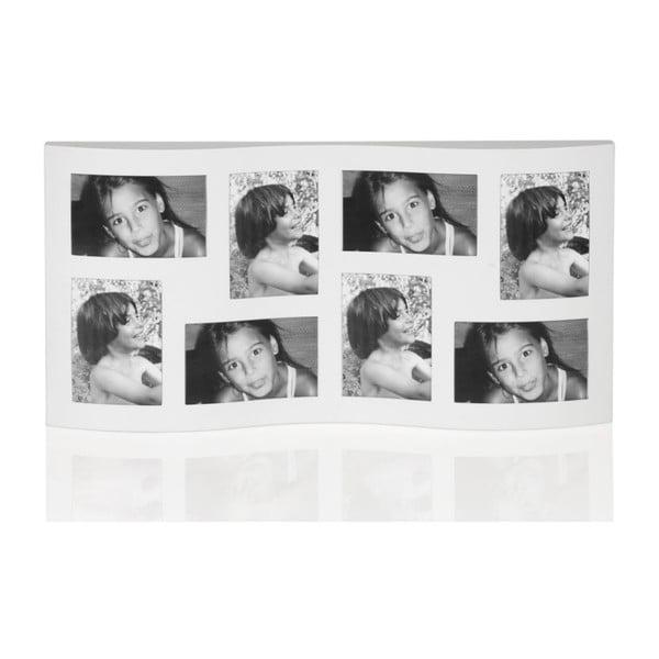 Fotorámeček White Wave, 60x32x2,5 cm