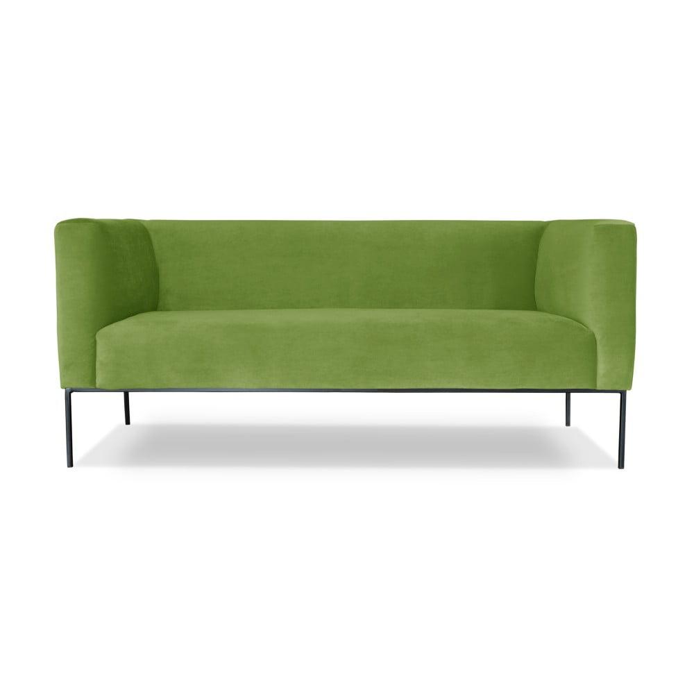 Zelená dvojmístná pohovka Windsor & Co. Sofas Neptune