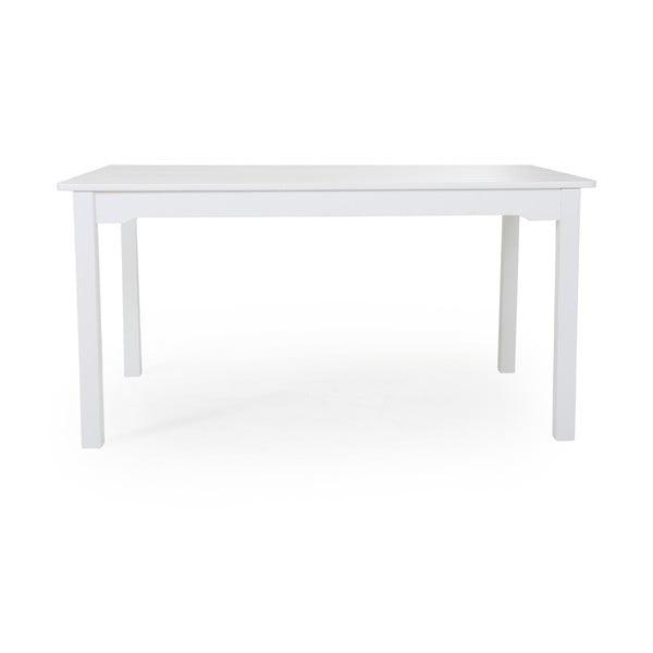 Bílý zahradní jídelní stůl Brafab Grundsund, 150x90cm