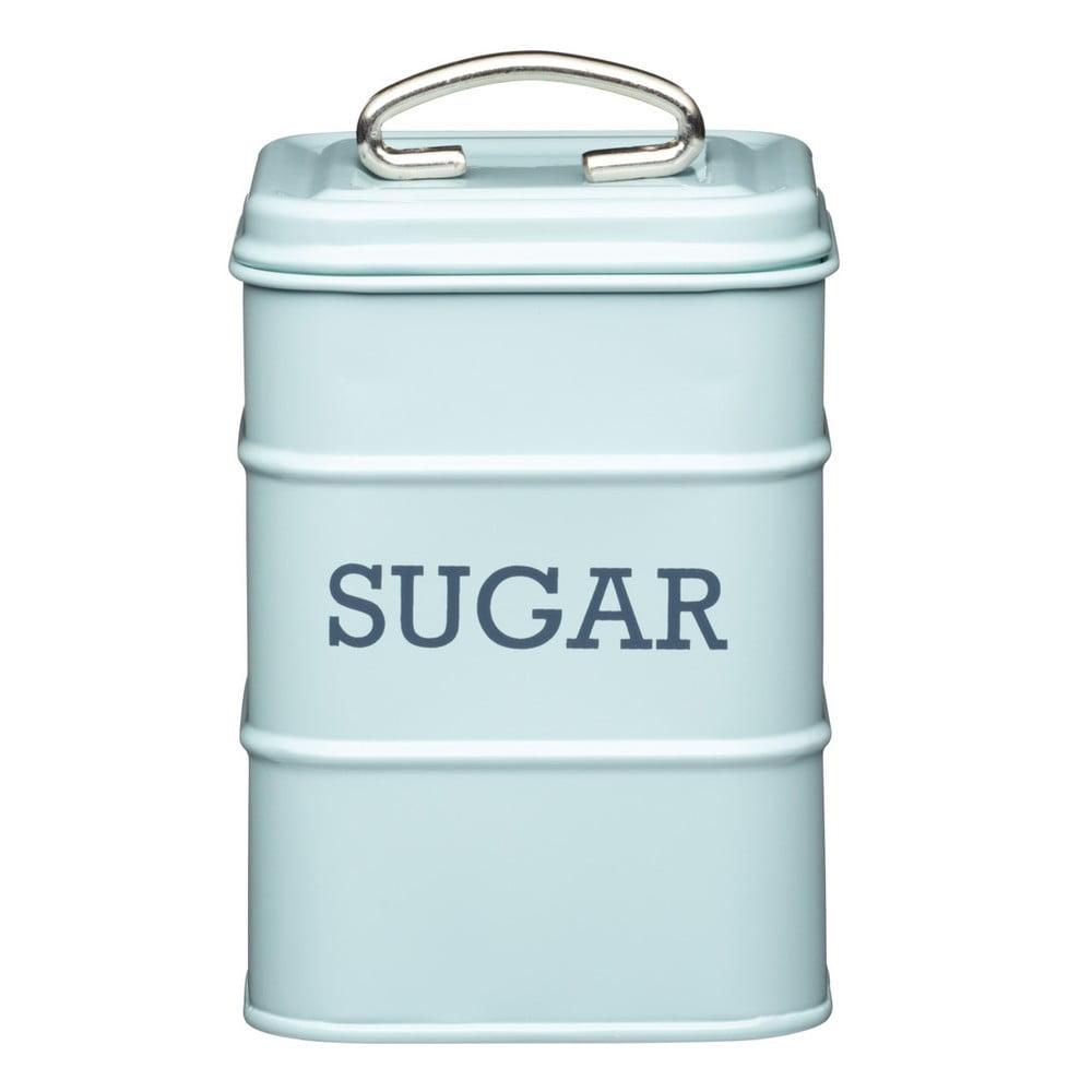 Modrá plechová dóza na cukr Kitchen Craft Nostalgia