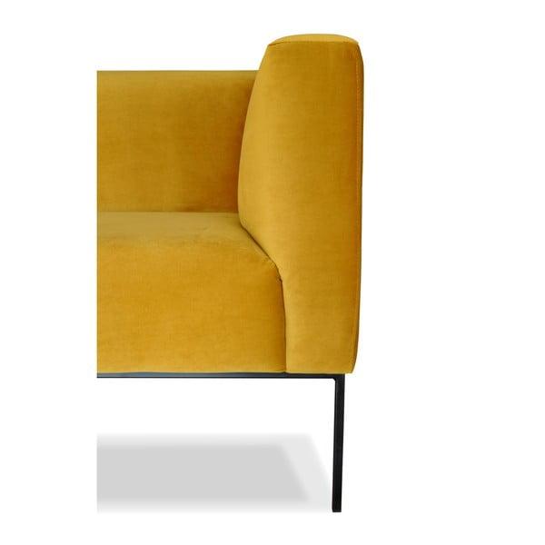 Žlutá trojmístná pohovka Windsor&Co. Sofas Neptune