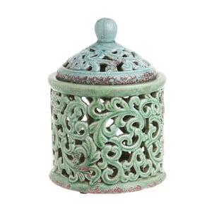 Recipient din ceramică InArt Ngana, verde