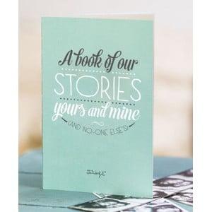Vzpomínková kniha pro páry Mr. Wonderful A Book of Our Stories