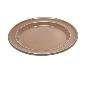 Béžový mělký talíř Emile Henry, ⌀ 28 cm