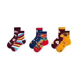Sada 3 párů dětských ponožek v dárkovém balení Many Mornings Apache, vel. 31–34
