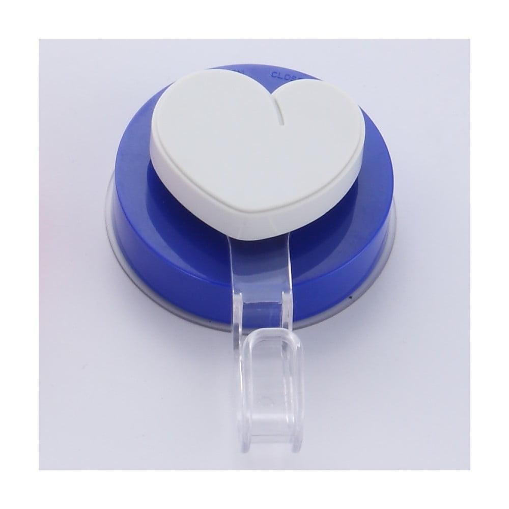 Modrý háček bez nutnosti vrtání ZOSO Heart