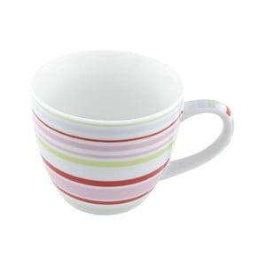 Porcelánový šálek Lines, barevný 4 ks