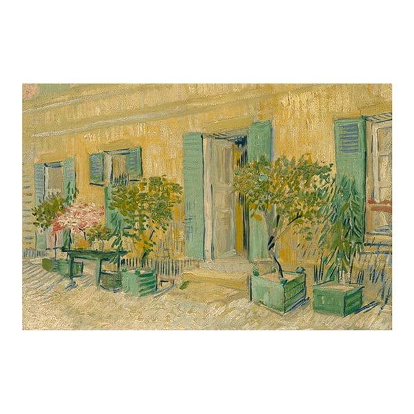 Obraz Vincenta van Gogha - Exterior of a Restaurant in Asnières, 90x60 cm