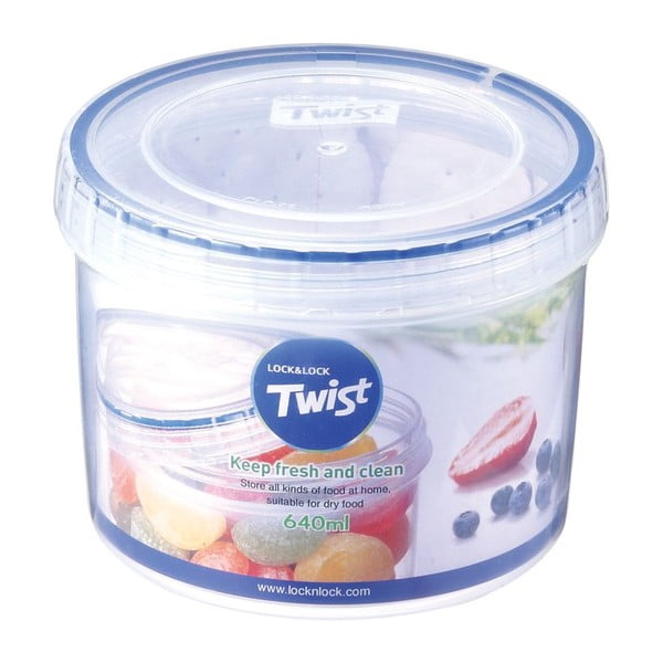 Nádoba na potraviny Hermetic Twist, 640 ml