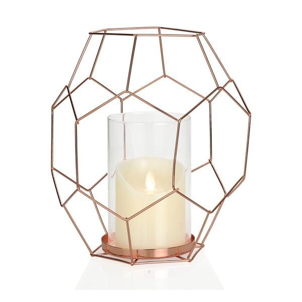 Geometrický svícen Hex