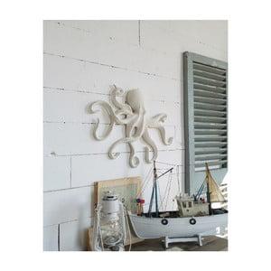 Nástěnná dekorace ve tvaru chobotnice Orchidea Milano, výška 36 cm