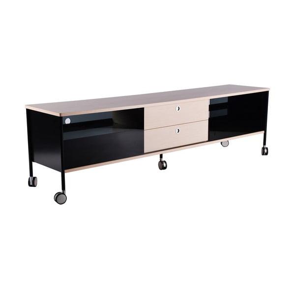 TV komoda Alessi 180 cm, černá