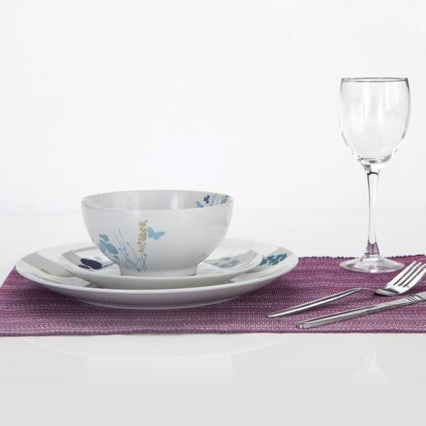 Porcelánová jídelní sada Meadow, 12 ks