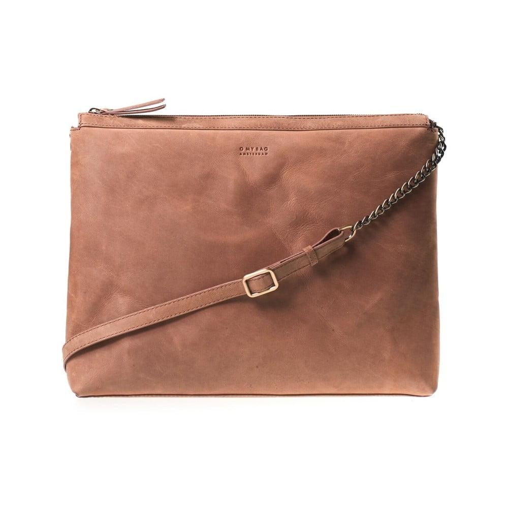 Hnědá crossbody kabelka s popruhem O My Bag