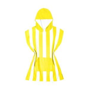 Dětská žlutá rychleschnoucí osuška s kapucí DockandBay