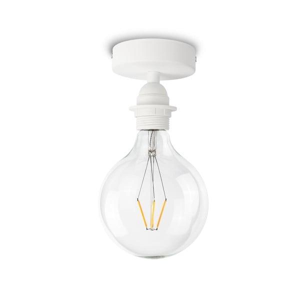 Bílé stropní svítidlo Bulb Attack Uno Basic