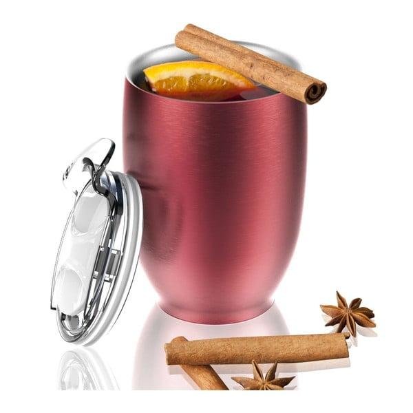 Cană termos Asobu Imperial Beverage, 300 ml, roșu