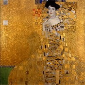 Reproducere tablou Gustav Klimt Adele Bloch-Bauer I, 45 x 45 cm