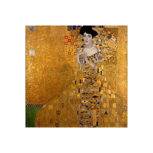 Reprodukcia obrazu Gustav Klimt Adele Bloch-Bauer I, 90 x 90 cm