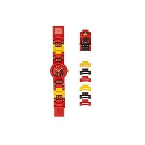 Červeno-žluté hodinky s figurkou LEGO® Ninjago Kai