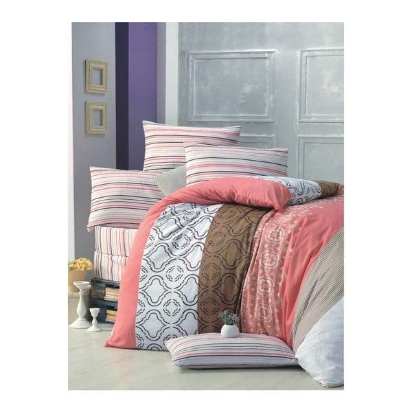 Lenjerie de pat cu cearșaf Degrade, 200 x 220 cm