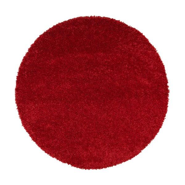 Červený koberec Universal Aqua Liso, ø80cm