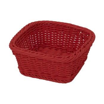 Coș pentru masă Saleen, 19x19cm, roșu imagine