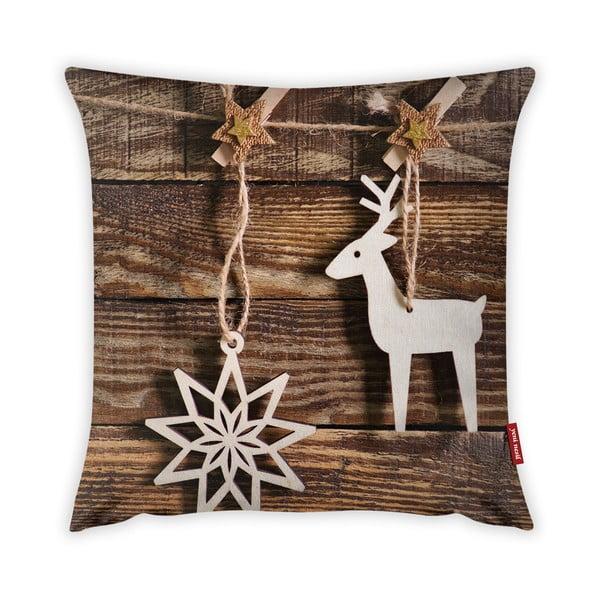 Poszewka na poduszkę Vitaus Christmas Period Deco, 43x43 cm