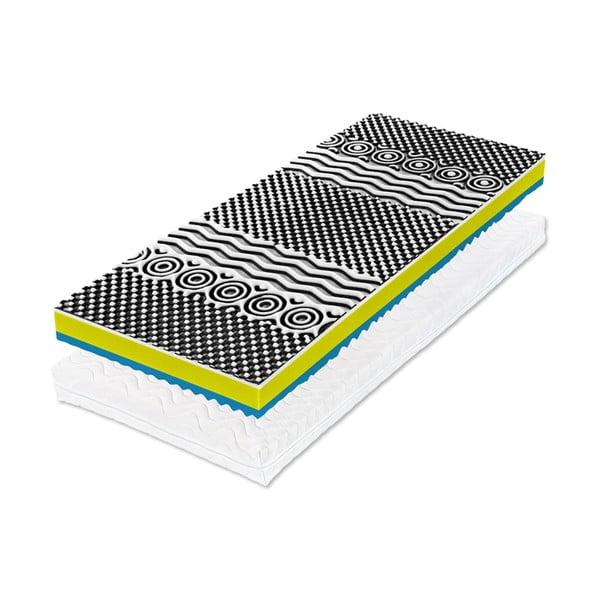 Matrace zpaměťové pěny Tropico Real XXL, 140x200x22cm